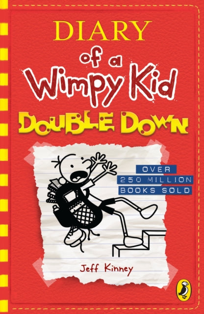 Diary of a Wimpy Kid: Double Down (Diary of a Wimpy Kid Book 11)-9780141376660