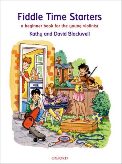 Fiddle Time Starters + CD : A Beginner Book for Violin-9780193365841