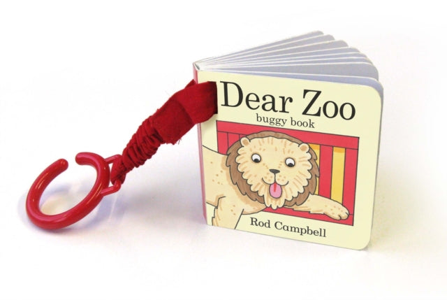 Dear Zoo Buggy Book-9780230747739