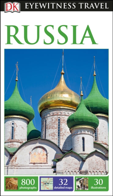 DK Eyewitness Travel Guide Russia-9780241209707