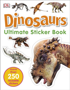 Dinosaurs Ultimate Sticker Book-9780241225189
