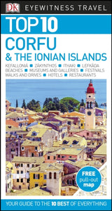 Top 10 Corfu and the Ionian Islands-9780241296301