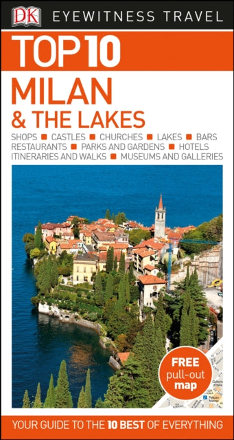 Top 10 Milan and the Lakes-9780241296332