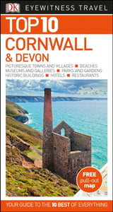Top 10 Cornwall and Devon-9780241306727