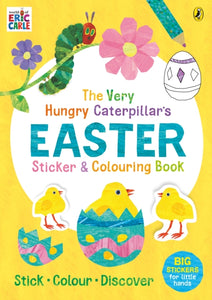 The Very Hungry Caterpillar's Easter Sticker and Colouring Book-9780241422311