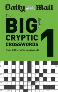 Daily Mail Big Book of Cryptic Crosswords 1-9780600636304