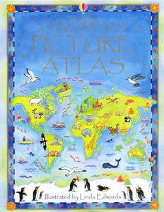 The Usborne Children's Picture Atlas-9780746047132