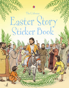 Easter Story Sticker Book-9780746088753