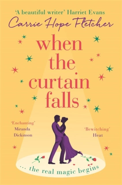When The Curtain Falls : The TOP FIVE Sunday Times Bestseller-9780751571233