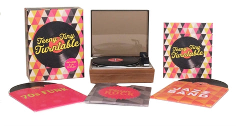 Teeny-Tiny Turntable : Includes 3 Mini-LPs to Play!-9780762462353