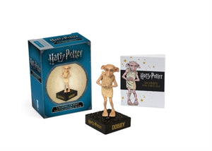 Harry Potter Talking Dobby and Collectible Book-9780762463107