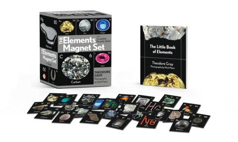 The Elements Magnet Set : With Complete Periodic Table!-9780762497072