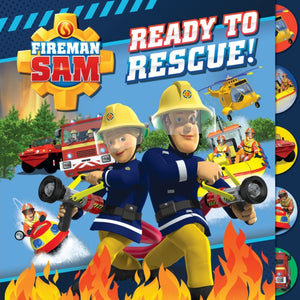 Fireman Sam: Ready to Rescue (Tabbed Board)-9781405293051