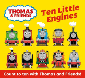 Thomas & Friends: Ten Little Engines-9781405293303
