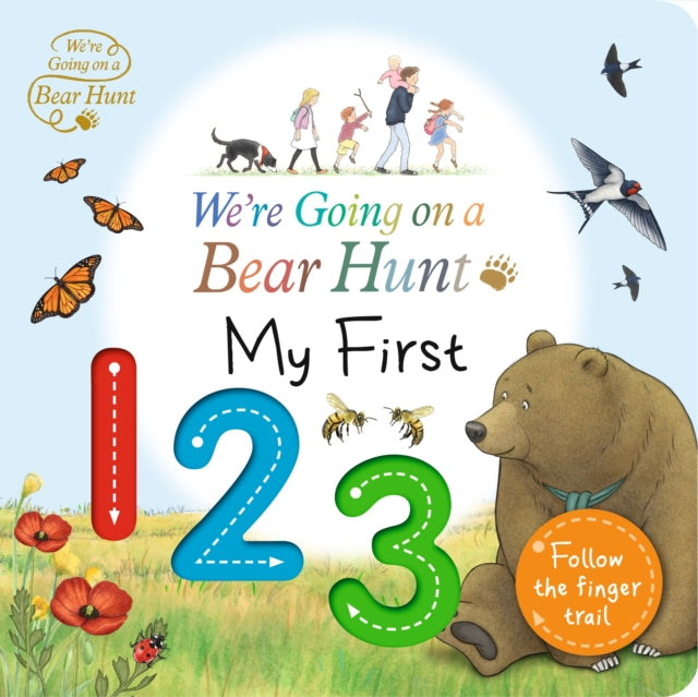 We're Going on a Bear Hunt: My First 123-9781406391305
