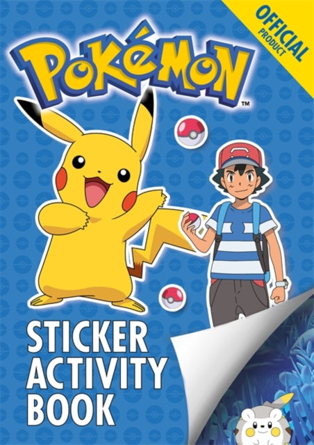 The Official Pokemon Sticker Activity Book-9781408350614
