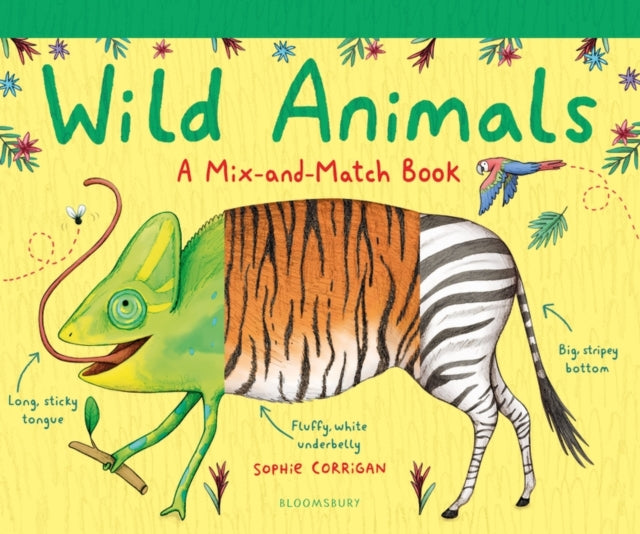 Wild Animals : A Mix-and-Match Book-9781408894101