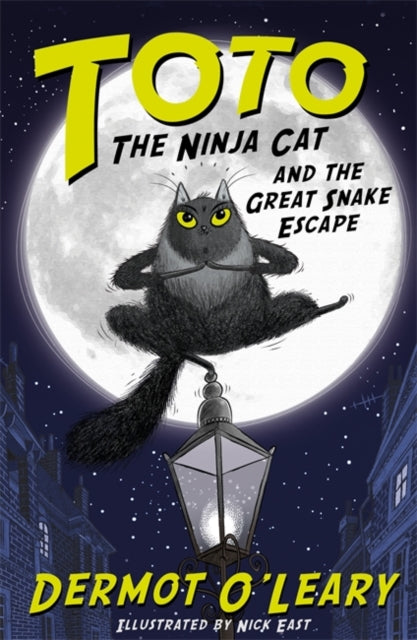 Toto the Ninja Cat and the Great Snake Escape-9781444939453