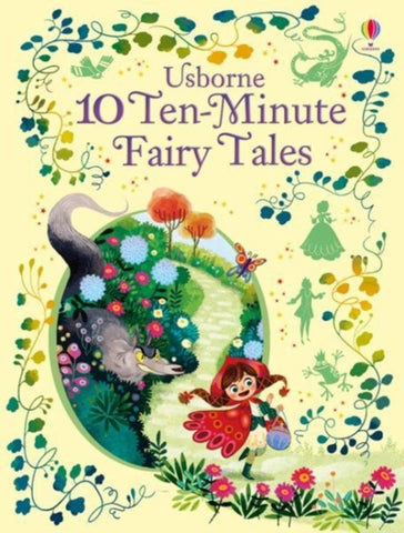 10 Ten-Minute Fairy Tales-9781474938037
