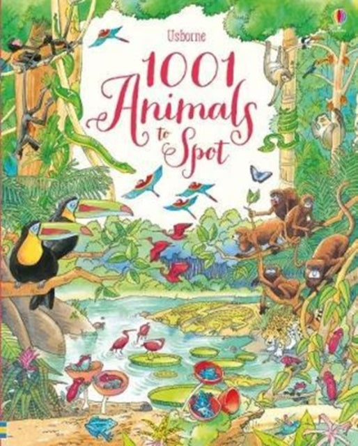1001 Animals to Spot-9781474941839