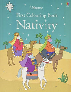 First Colouring Book Nativity-9781474956642