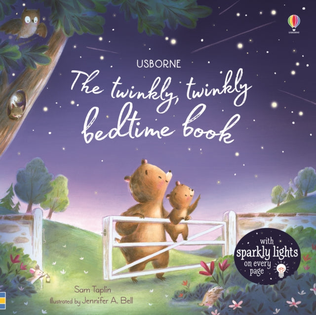 The Twinkly Twinkly Bedtime Book-9781474967563