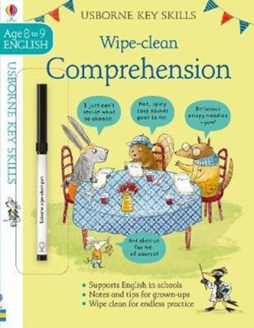 Wipe-Clean Comprehension 8-9-9781474968546