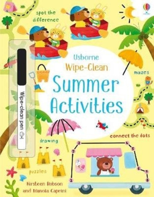 Wipe-Clean Summer Activities-9781474968577