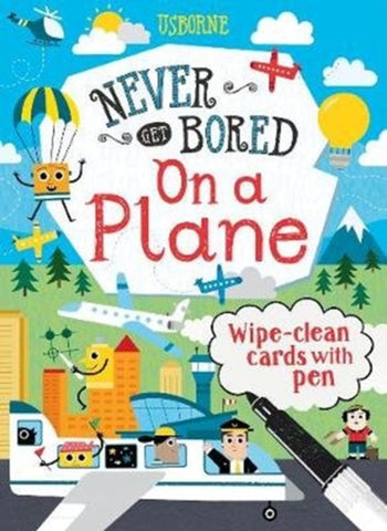 Never Get Bored on a Plane-9781474970501