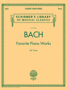 Bach Favorite Piano Works-9781476875552