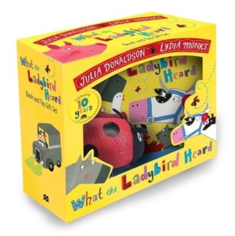 What the Ladybird Heard Book and Toy Gift Set-9781509894505