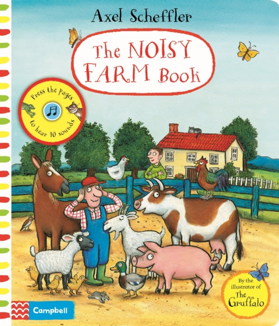 Axel Scheffler The Noisy Farm Book-9781529010701