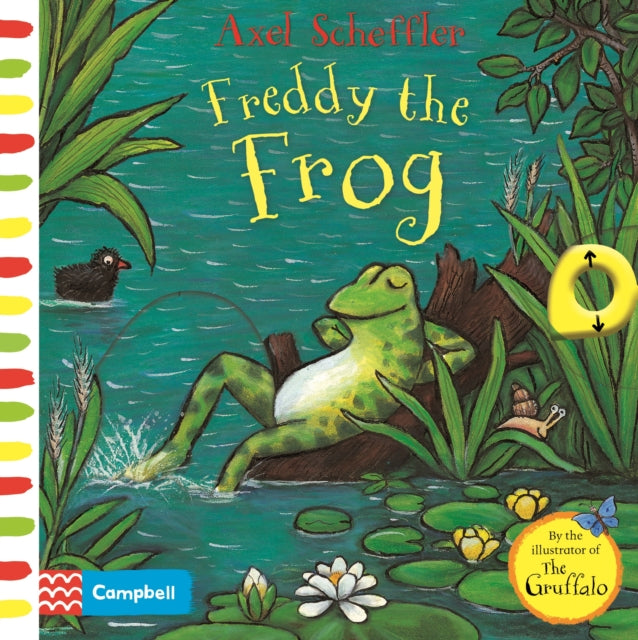 Axel Scheffler Freddy the Frog : A push, pull, slide book-9781529023329
