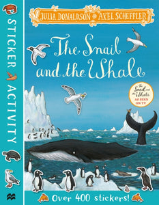 The Snail and the Whale Sticker Book-9781529023800