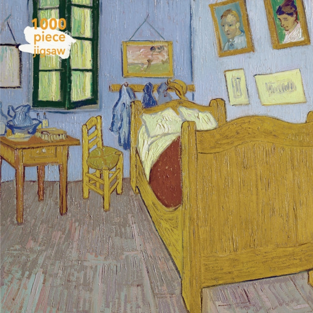 Adult Jigsaw Vincent van Gogh: Bedroom at Arles : 1000 piece jigsaw-9781787558847