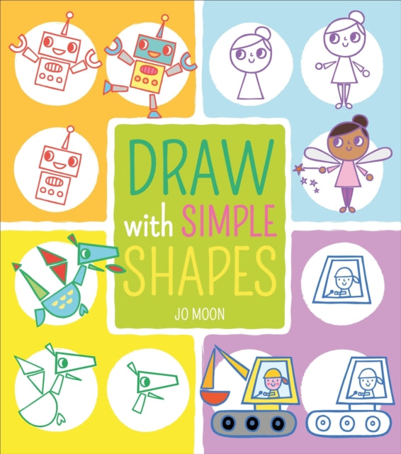 Draw with Simple Shapes-9781789501001