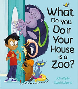 What Do You Do if Your House is a Zoo?-9781848699502