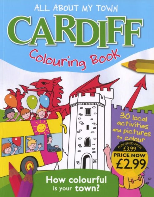 Cardiff Colouring Book-9781849930468