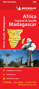 Africa Cental & South, Madagascar-9782067172555