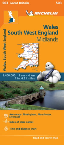Wales, the Midlands, South West England-9782067183308