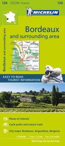 Bordeaux & Surrounding Areas Zoom Map 126-9782067212015