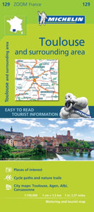 Toulouse & Surrounding Areas Zoom Map 129-9782067212039