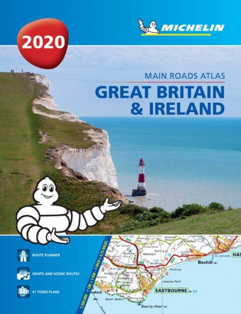 Great Britain & Ireland 2020 - Mains Roads Atlas (A4-Paperback) : Tourist & Motoring Atlas A4 Paperback-9782067237131