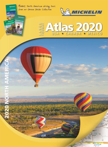 2020 North America Road Atlas-9782067237162