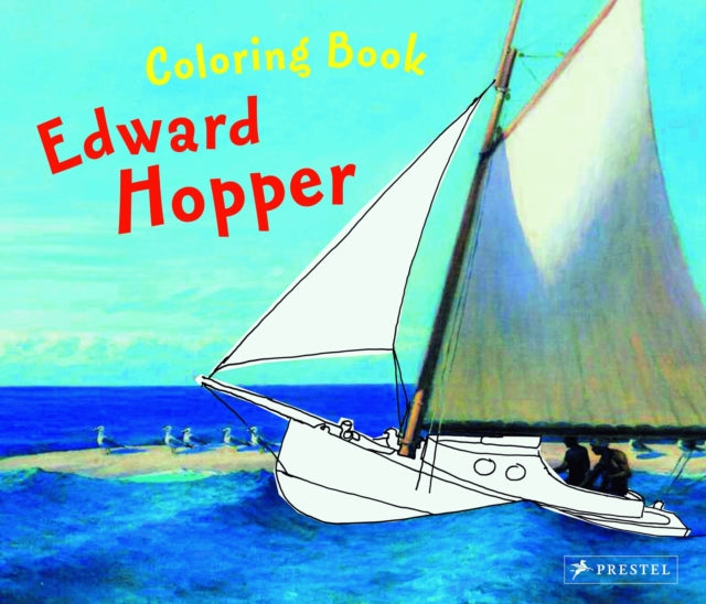Edward Hopper: Coloring Book-9783791338095