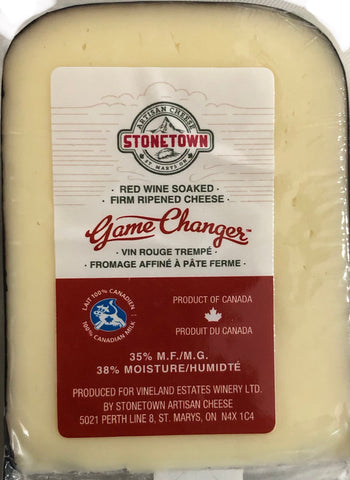 RED WINE SOAKED FIRM RIPENED CHEESE