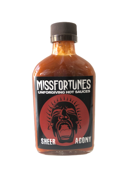 SHEER AGONY - UNFORGIVING HOT SAUCES