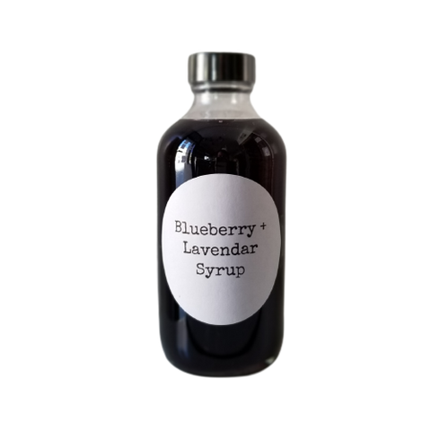 BLUEBERRY LAVENDAR SIMPLE SYRUP
