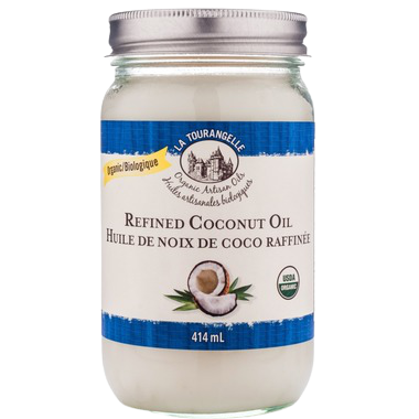 REFINED ORGANIC COCONUT OIL