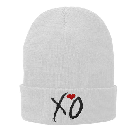 XO the weeknd Embroidered Beanie Fleece-Lined Knit Cap - SenseOfCustom - 2